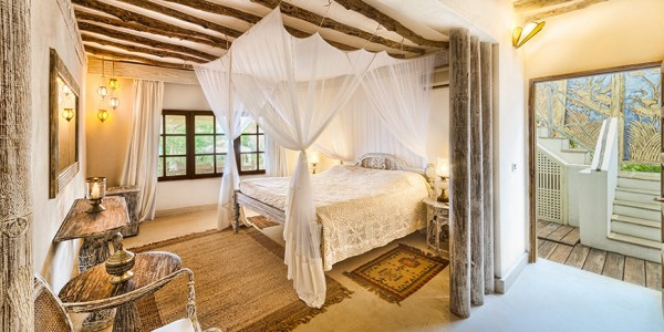 Kenya - Kenya Coast - Alfajiri Villas - Cliff Villa Bedroom