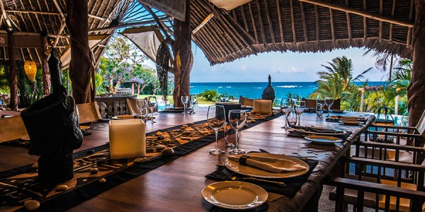 Kenya - Kenya Coast - Alfajiri Villas - Garden Villa Dining