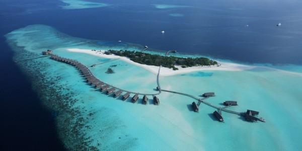 Maldives - Cocoa Island - Resort - Aerial Shot