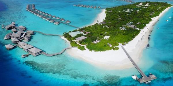 Maldives - Six Senses Laamu - Aerial
