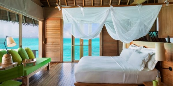 Maldives - Six Senses Laamu - Bedroom