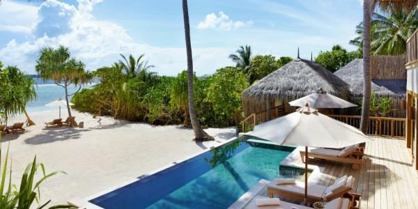 Maldives - Six Senses Laamu - Terrace