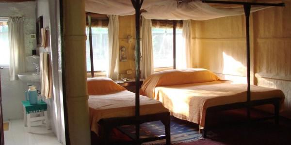 Nepal - Bardia National Park - Tiger Tops Karnali Lodge - Room