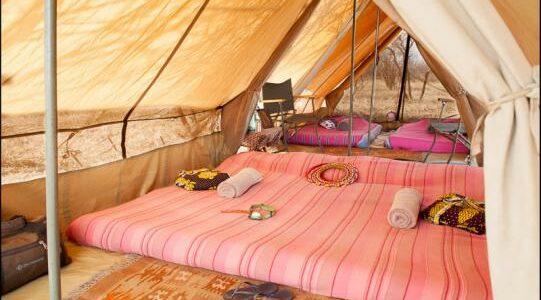 Africa - Kenya - Laikipia - Karisia Walking Safaris - Camp