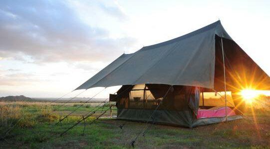 Africa - Kenya - Laikipia - Karisia Walking Safaris - Camp Outside