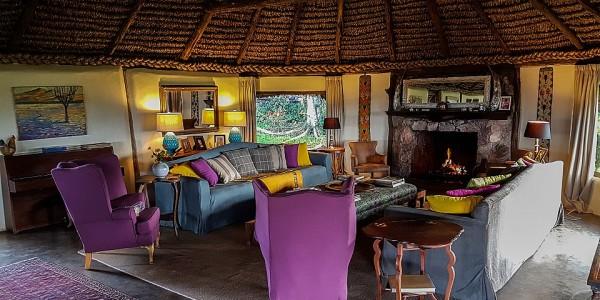 Africa - Kenya - Laikipia - Lewa House - Lounge
