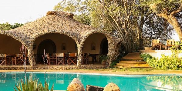 Africa - Kenya - Laikipia - Lewa House - Pool 2