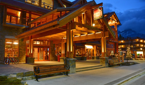Canada - Canadian Rockies - Moose Hotel & Suites - Overview