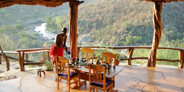 Kenya - Laikipia - Sabuk Lodge - Dining