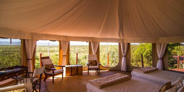 Kenya - Masai Mara - Hemingways Ol Seki Mara Camp - Interior