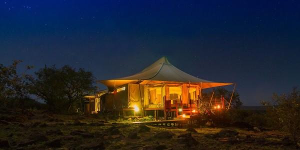 Kenya - Masai Mara - Hemingways Ol Seki Mara Camp - Tent