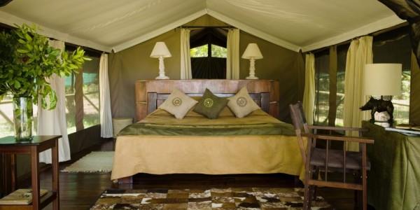 Kenya - Masai Mara - Little Governors Camp - Bed