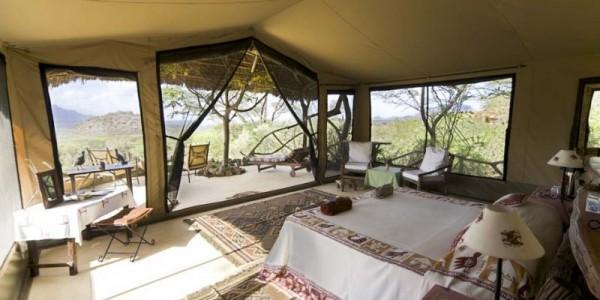 Kenya - Northern Kenya - Sarara Camp - Tent