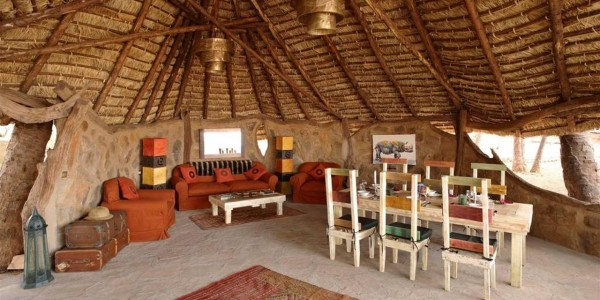 Kenya - Northern Kenya - Saruni Rhino - Inside