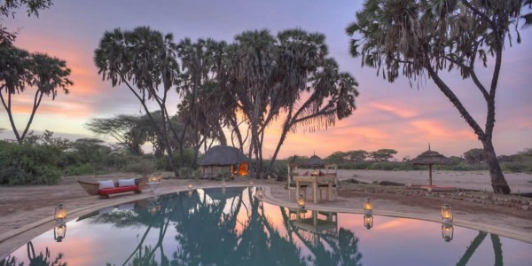 Kenya - Northern Kenya - Saruni Rhino - Pool