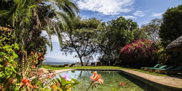 Kenya - Rift Valley - Kiangazi House - Pool