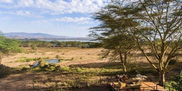 Kenya - Rift Valley - Kiangazi House - Viewing Deck