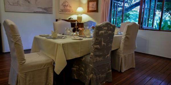 Kenya - Rift Valley - Loldia House - Dining