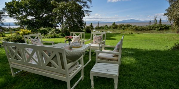Kenya - Rift Valley - Loldia House - View