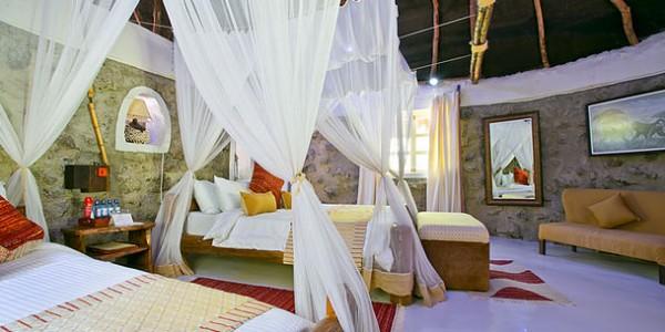 Kenya - Rift Valley - Mbweha Camp - Bedroom