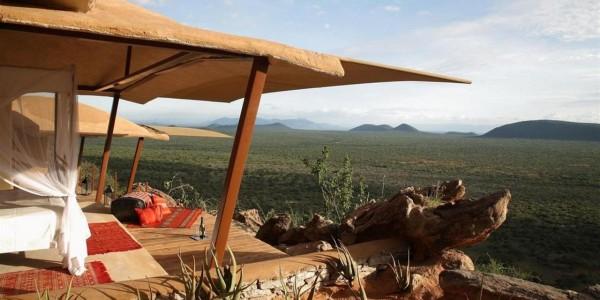 Kenya - Samburu - Saruni Samburu - View