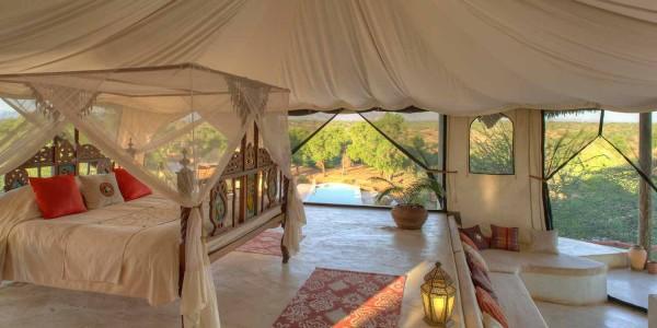 Kenya - Samburu - Sasaab Lodge - Luxury Suite