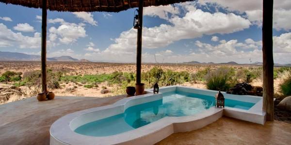 Kenya - Samburu - Sasaab Lodge - Pool