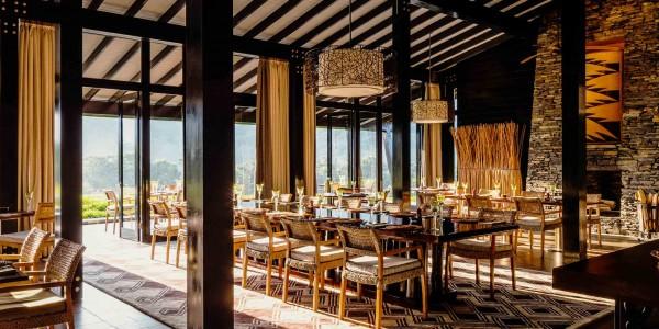 Rwanda - Nyungwe Forest National Park - One&Only Nyungwe House - Dining Room