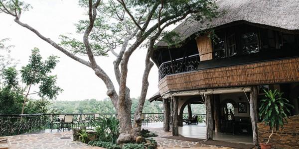 Zimbabwe - Gonarezhou National Park - Chilo Gorge Safari Lodge - Outside