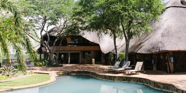Zimbabwe - Gonarezhou National Park - Chilo Gorge Safari Lodge - Pool