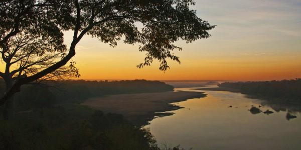 Zimbabwe - Gonarezhou National Park - Chilo Gorge Safari Lodge - Sunrise