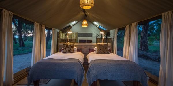 Zimbabwe - Hwange National Park - Davison's Camp - Guest Tent