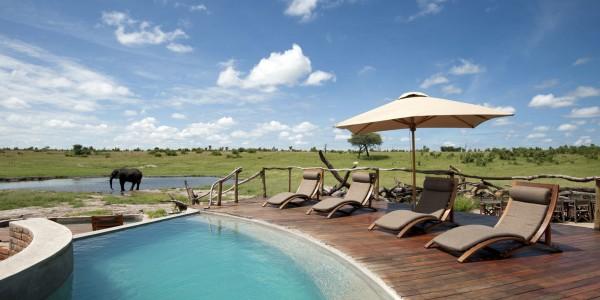 Zimbabwe - Hwange National Park - Somalisa Camp - Pool