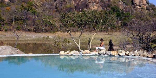Zimbabwe - Matobo Hills National Park - Amalinda Lodge - Pool