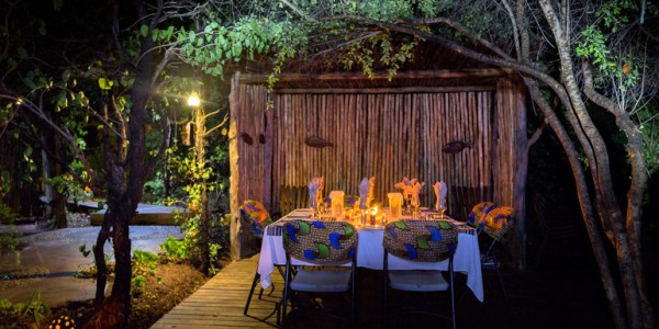 Zimbabwe - Matusadona National Park & Lake Kariba - Changa Safari Camp - Dining