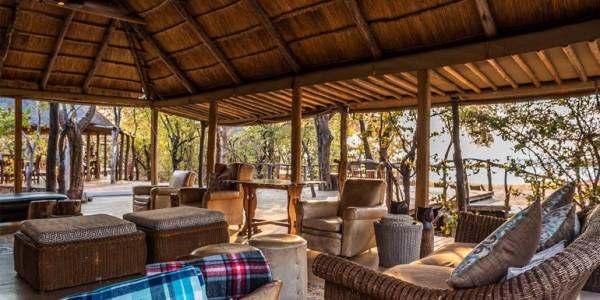 Zimbabwe - Matusadona National Park & Lake Kariba - Changa Safari Camp - Lounge