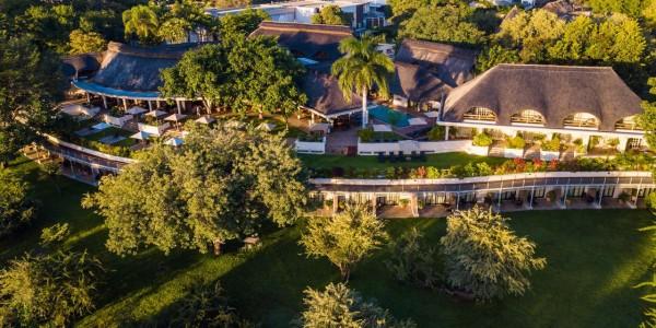 Zimbabwe - Victoria Falls - Llala Lodge - Aerial View
