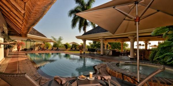 Zimbabwe - Victoria Falls - Llala Lodge - Pool