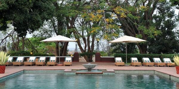 Zimbabwe - Victoria Falls - Victoria Falls Hotel - Pool