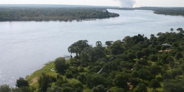 Zimbabwe - Victoria Falls - Victoria Falls River Lodge - Aerial Lodge