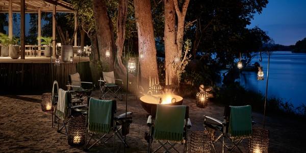 Zimbabwe - Victoria Falls - Victoria Falls River Lodge - Campfire