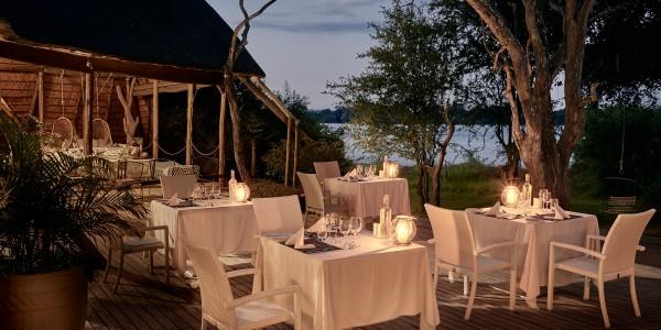 Zimbabwe - Victoria Falls - Victoria Falls River Lodge - Dining