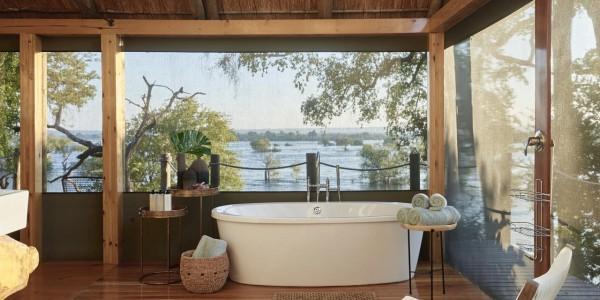 Zimbabwe - Victoria Falls - Victoria Falls River Lodge - Luxury Tent 2