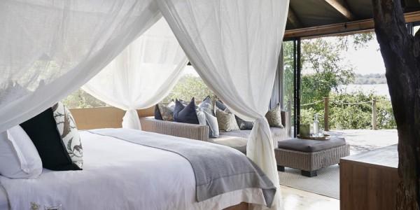 Zimbabwe - Victoria Falls - Victoria Falls River Lodge - Luxury Tent