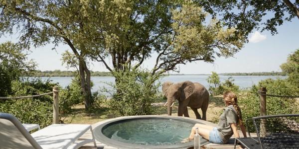 Zimbabwe - Victoria Falls - Victoria Falls River Lodge - Pool