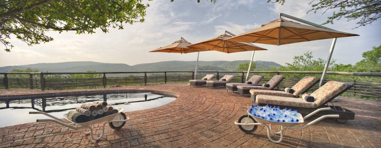 South Africa - Kwazulu Natal - Phinda Mountain Lodge - Pool