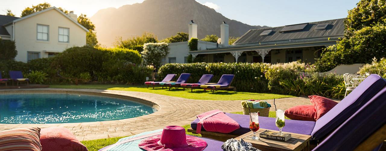 South Africa - Winelands - Le Quartier Francais - Pool