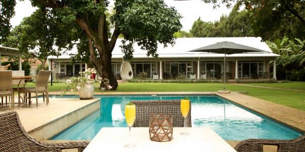 Zimbabwe - Harare - Highlands House - Pool