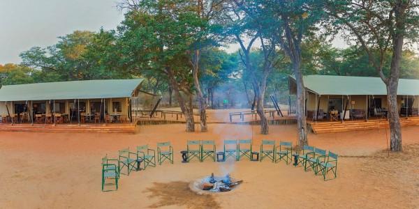 Zimbabwe - Hwange National Park - Verney's Camp - Campfire