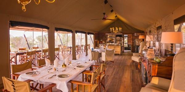 Zimbabwe - Hwange National Park - Verney's Camp - Dining